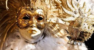 Venetian masks are a centuries-old Venetian tradition. Today, masks worn during the Venice Carnival, but generally used as a means of hiding the identity and social status of the user in the past, were used to interact with other members of the society outside the boundaries of daily social life and to act freely. Decorated with paper, fur, fabric, jewelry or feathers for centuries in Venice, these distinctive masks featured a rather flamboyant design using bright colors such as gold or silver and intricate baroque-style decorations.